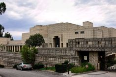 Ennis House front view FLW