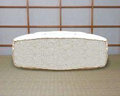 Matelas Futon 9 couches de coton et revêtement en coton-bio Coton Bio, Couches, Pot Holders, Sofas, Hot Pads, Potholders, Couch, Lounge Suites, Banks