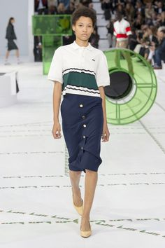 Lacoste | Ready-to-Wear - Spring 2018 | Look 13