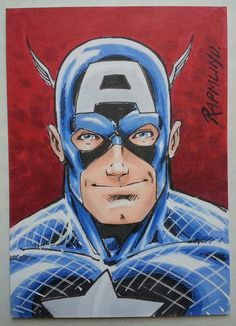 Captain America by Norm Rapmund