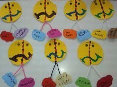 «Μάρτης είναι, χάδια κάνει, πότε κλαίει, πότε γελάει». Spring Crafts, Holidays And Events, Kindergarten, Kindergartens, Preschool, Fall Crafts, Pre K, Day Care
