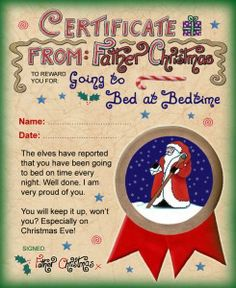 santa letters on Pinterest | Letter From Santa, Free Letters From ...