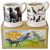Buy Emma Bridgewater Black Labrador Mugs, Set of 2 from our Tableware range at John Lewis. Free Delivery on orders over £50.