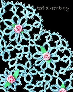 TATtle TALES Tatting Patterns - Tatting and Design by Teri Dusenbury