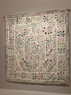 Auntie Green's Quilt. From the exhibit, 'Making the Australian Quilt 1800 - 1950' which is showing at the National Gallery in Melbourne