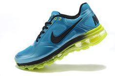 huge selection of 2e704 b237c Nike Air Max 2013 Verde MP Zapatillas De Running Azul 1.3 Entrenamiento,  fashion shoes for sports