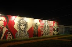 "Shepard Fairey, ""The Wynwood Walls"" (Miami)"