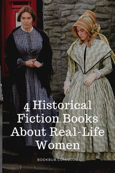 Check out these fascinating historical fiction books based on the lives of actual women.  #books #historicalfiction #bookclub