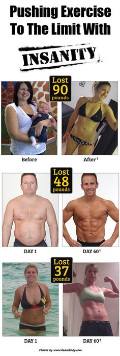 Pushing Exercise To The Limit With Insanity Workout. Click on the image for the article. Re-pin if you like it!
