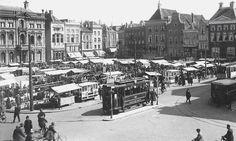 Grote Markt Groningen begin 20e eeuw
