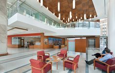 Emily Couric Clinical Cancer Center | ZGF Architects | Slide show | Architectural Record