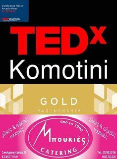 Στηρίζουμε TEDxKomotini 07.05.2017 ARCADIA HOTEL.   #TEDxKomotini