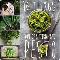 I love me some pesto.