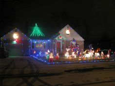 Christmas Lights in Niagara Falls