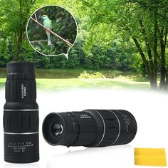 Dustproof Dual Focus Monocular optical lens