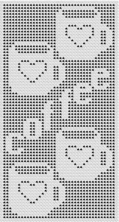 filet crochet afghan patterns hundreds Crochet Curtain Pattern, Crochet Patterns Filet, Crochet Curtains, Crochet Blocks, Crochet Diagram, Crochet Afghans, Crochet Motif, Crochet Doilies, Afghan Patterns