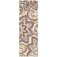 "$72 - 108"" x 24"" Maples™ Celeste Print Runner Rug  found at @JCPenney"