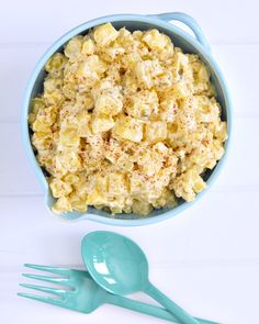Guess the secret ingredient in Kristina's potato salad!  via @spabettie