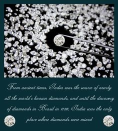 Here's another astounding fact about the diamond, your glam stone. Did you know how very ostentatiously they have been adding on to the esteemed heritage of India since times immemorial?! Visit here: http://bit.ly/KapishJewels  #2ndPost #TheDiamondBookOfFacts #LuminiscenceOutside #EnchantmentWithin #KapishJewels