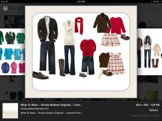 Fall And Winter Family Picture Outfits