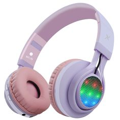 Kids headphones foldable wireless with led light Light Up Headphones, Cute Headphones, Sports Headphones, Bluetooth Headphones, Rick Danko, Gaming Room Setup, Towel Warmer, Mens Hawaiian Shirts, Gaming Headset
