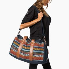 the Pike - Inspired by our love for adventure, this weekender bag is essential for a getaway or a long journey. Perfect as a carry on or travel bag, this weekender is a must-have.Made in Peru, 'the Pike' will help you be ready for anything!