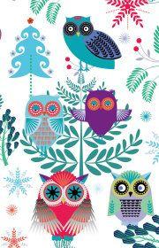 Roger la Borde | Christmas Owl Notecard Pack