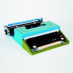 Neon Typewriter // inspiration behind Analog.am