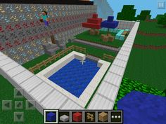 Mega Mansion outdoor. Pool & Outdoor kitchen / Bar. Umbrella seating as well.