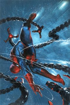 "Spiderman #Fan Art. (""The Clone Conspiracy"" #2 Cover) By: Gabriel DellO'tto."