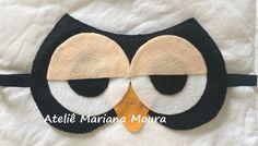 mascara de dormir de coruja de feltro - Pesquisa Google