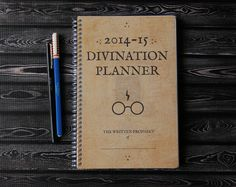 Harry Potter 2014-2015 Planner - Pick Your Starting Month