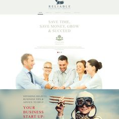 Consulting Responsive Website Theme