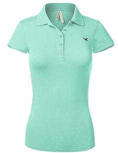Purchase Luna Flower Women's Short Sleeve Cotton Slim Fit Polo Shirt with a Bird Embroidery at Discounted Prices ✓ FREE DELIVERY possible on eligible purchases. Luna Flower Women's Short Sleeve Cotton Slim Fit Polo Shirt with a Bird Embroidery Polo Tee Shirts, Slim Fit Polo Shirts, Polo Shirt Women, Tees, Tommy Hilfiger Women, Casual Tops, Shirt Sleeves, Sweaters For Women, Bird Embroidery