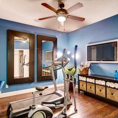 Best home workout room images in gym room home gym