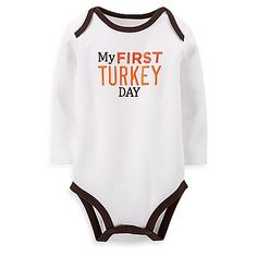 Carter's Baby Boys' or Baby Girls' Thanksgiving Bodysuit Thanksgiving Baby Outfits, Cute Onesies, Baby Necessities, Carters Baby Boys, Baby Girls, Unisex Baby, Toddler Outfits, Baby Pictures, Baby Bodysuit