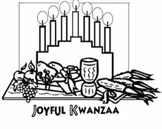 traditional african mask for holiday kwanzaa coloring page