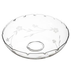 AFFARI · Kerzenring | Manschette | Tropfschutz ' TINGLE Flower edge ' · transparent – Bild 2