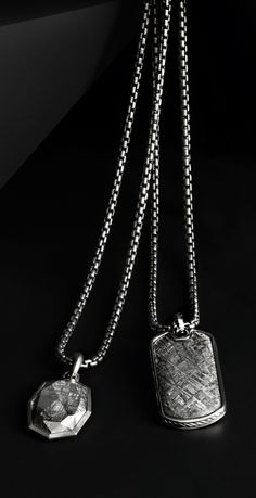 David Yurman meteorite amulets