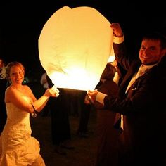 Floating lanterns. can light up the sky  and are in right now. Instead of fire works for the finally before you leave get the guest involved and have em float!  https://www.birando.com/Large-Wish-Lantern-Wedding-Package_p_46.html