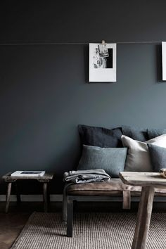 Inside a Moody Gray Home in Sweden via @domainehome