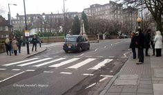 Beatles' Abbey Road in London