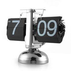 Retro Auto Flip Desk Clock