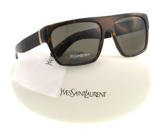 Yves Saint Laurent Gafas de sol Para Hombre 2331/S - YXI/NR: Tortuga / Caucho: #sunglasses #gafasdesol #YvesSaintLaurent #YSL