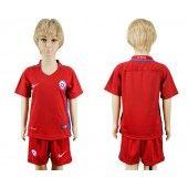 Chile Trøje Børn 2016 Hjemmebanetrøje Kort ærmer