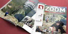 Zaprojektowaliśmy nowy layout magazynu dla pracowników grupy Nomax. Projekt został przez nas wdrożony oraz przygotowany do druku i publikacji elektronicznej. I tak powstał nowy ZOOM.  Chciałbyś zlecić podobną usługę? Zapraszamy do nas: www.dtpowiec.pl