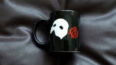 Hand painted mug inspired by the Phantom of the Opera by IHeartMugs2015 on Etsy https://www.etsy.com/listing/266660609/hand-painted-mug-inspired-by-the-phantom