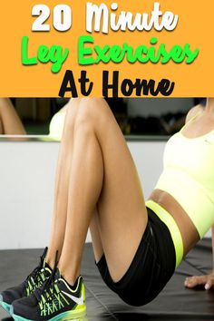6 Awesome Leg Exercises You Can Do At Home To Lose Fat and Tone Legs Many people want to achieve toned, firm legs, but it is a real challenge. So if you want to slim your thighs, here are best our favorite leg toning exercises you do at home. Leg Workout Plan, Toned Legs Workout, Squat Workout, Toning Workouts, Leg Toning, At Home Workouts, Leg Exercises, Yoga For Beginners Flexibility, Yoga Poses For Beginners