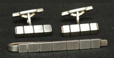 Georg Jensen (Denmark) Jewelry (Sterling, Holloware) at Replacements, Ltd Tie Pin, Denmark, Cufflinks, Crystals, Silver, Accessories, Jewelry, Jewels, Schmuck
