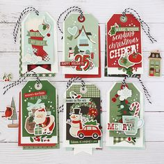 Sending Christmas Cheer! by Anya Lunchenko – Simple Stories Xmas Cards, Holiday Cards, Holiday Decor, Diy Cards, Homemade Christmas Cards, Christmas Holidays, Jingle All The Way, Simple Stories, Creative Cards
